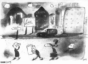 Cartoonist.Michael Leunig