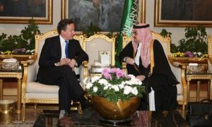 David Cameron in meeting with Prince Mohammed bin Nawaf,