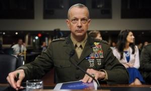 General John Allen retires