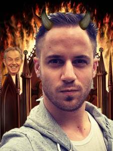 Julien Blanc: Confirmed pick up artist and spawn of Satan loitering around the gates of hell.