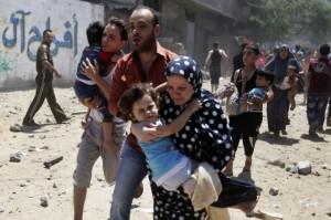 gaza-civilains-fleeing