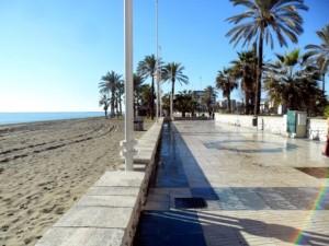 Sea in Malaga